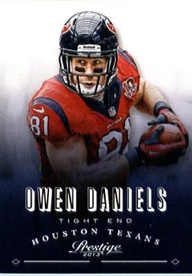 2013 Panini Prestige Football Card # 81 Owen Daniels Houston Texans