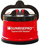 SunrisePro Knife Sharpener, The Best Choice of Master Chefs, U.S. Patented, 100 Percent Original