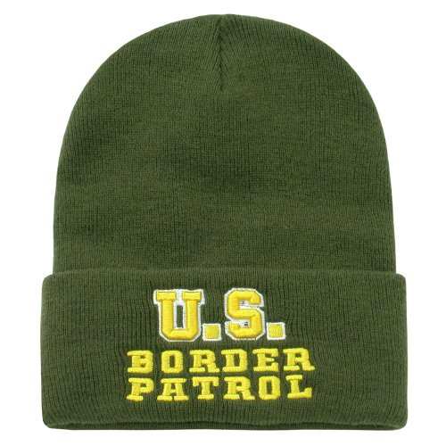 Rapid Dominance Us Border Patrol Long Beanie