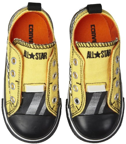 Converse Infant Chuck Taylor Simple Slip On - Runner Yellow-5 INFT