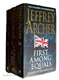Jeffrey Archer Jeffrey Archer 3 books pack: First Among Equals / A Prisoner of Birth / Not a Penny More, Not a Penny Less rrp £28.97