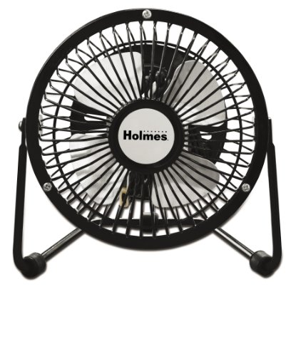 Holmes Mini High Velocity Personal Fan, HNF0410A-BM (Personal Quiet Fan compare prices)