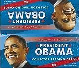 TOPPS PRESIDENT OBAMA オバマ大統領 記念トレーディングカード