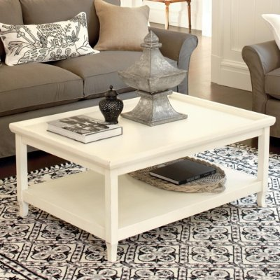 White Coffee Table Online Stores Morgan Coffee Table Aged White