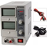 Dr.Meter® HY1803D Variable Linear Single Output DC Power Supply -- 0-18V @ 0-3A