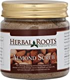 Herbal Roots Almond Face And Body Scrub- 100 gm- MRP- Rs. 499