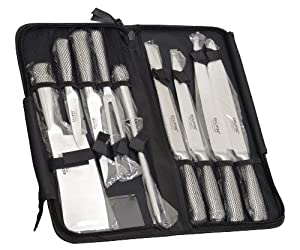 Brand New Ross Henery Professional Eclipse Premium 9 Piece Chefs Knife Set in Heavy Duty... by Ross Henery Professional