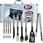 Chef Buddy Heavy Duty 19-Piece BBQ Se...