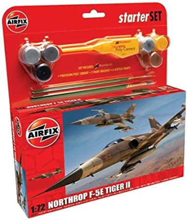 Airfix - A50094 - Maquette - Medium Starter Set - Northrop F-5E Tiger 11
