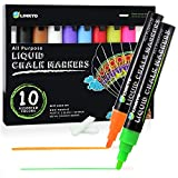Dealsmountain.com: 10-Color LINKYO Liquid Chalk Marker Pens with Erasable Ink and Reversible Tips