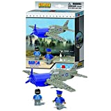Best Lock WWII Plane 120 Piece Construction Toy (Color: 0, Tamaño: 0)