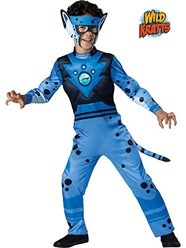 Wild Kratts Cheetah Quality Costume for Kids