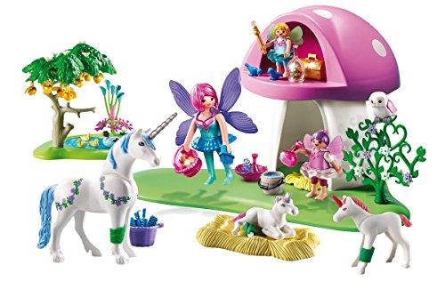 Playmobil-6055-Centre-de-soins-pour-licornes