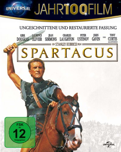 Spartacus - 50th Anniversary - Jahr100Film [Blu-ray]