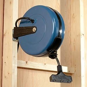 Amazon Com Shop Basics Retractable Cord Reel Home