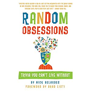 Random Obsessions: Trivia You Can't Live Without Audiobook