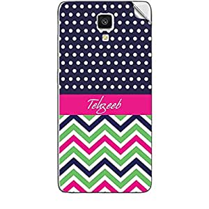 Skin4Gadgets Tehzeeb Phone Skin STICKER for XIAOMI MI 4