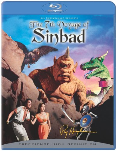 Cover art for  The Seventh Voyage of Sinbad [Blu-ray]