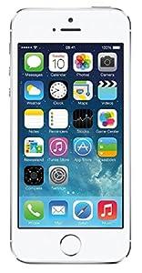 Apple iPhone 5S Silver 16GB Unlocked GSM Smartphone (Certified Refurbished)
