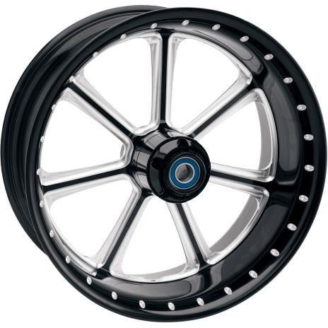 Rsd Diesel Contrast Cut 23X3.5 Front Wheel , Color: Black, Position: Front, Rim Size: 23 12047306Rdiebm