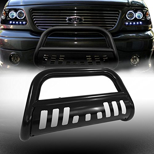 VioGi 1pc Fit 04-14 Ford F150 07-16 Lincoln Navigator/Ford Expedition New Carbon Steel C/S Blk Front Bumper Grill Guard Bull Bar (Ford Expedition Tow Hook compare prices)