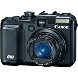51bISjEC3XL. SL160  Canon PowerShot G10 14 Megapixel Digital Camera w/ 28mm Wide Lens, 5x Optical Zoom, 3 LCD, Face Detection & Red Eye Correction