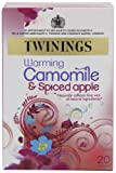 Twinings Camomile and Spiced Apple 20 Teabags (Pack of 8, Total 160 Teabags)
