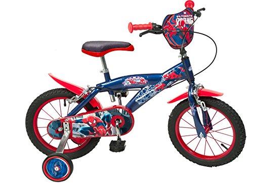 14-Zoll-Kinderfahrrad-Spiderman-Jungen-4-5-6-7-jahre