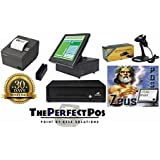 Retail Point of Sale Bundle w/Touch Screen Terminal! - Featuring RetailPerfect POS Software