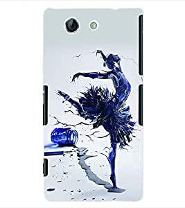 ColourCraft Dance Back Case Cover for SONY XPERIA Z4 COMPACT
