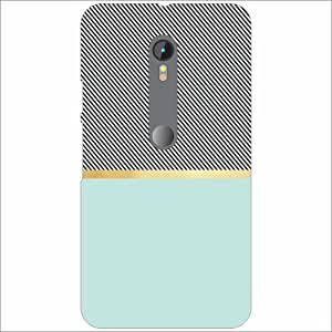 Moto G (3rd Generation) Back Cover - (Printland)
