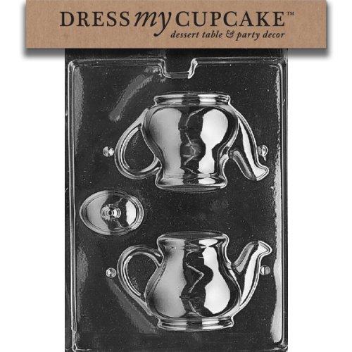 Dress My Cupcake Chocolate Candy Mold, Tea Pot