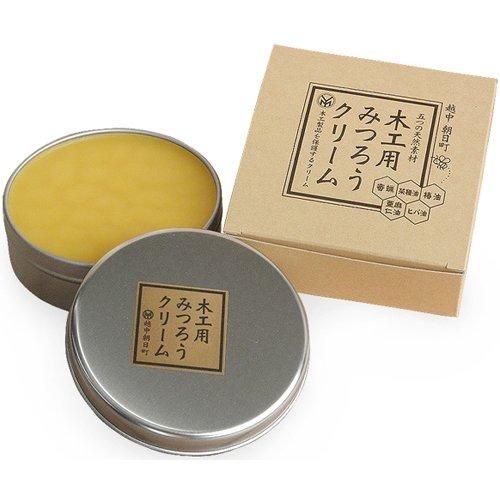 尾山製材株式会社 木工用みつろうクリーム200g[HTRC3]
