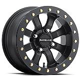 Raceline Mamba Beadlock ATV Wheel - Black [14x7] 4/156 - (4+3)