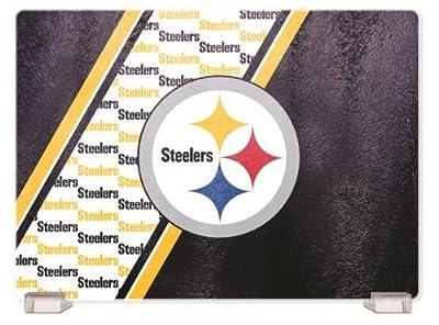 NFL Pittsburgh Steelers Glass Cutting Board