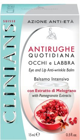 Crema Azione Antirughe Quotidiana Occhi E Labbra Balsamo Intensivo Prevenzione Attiva All'Estratto Di Melograno 15 Ml