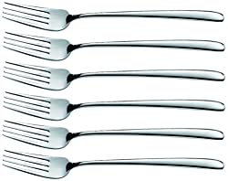 Alos Palazzo Steel Dinner Forks, 183 mm, Set of 6