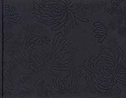 Pierre Belvedere Chrysanthemum Guest Book, Charcoal (7708500)