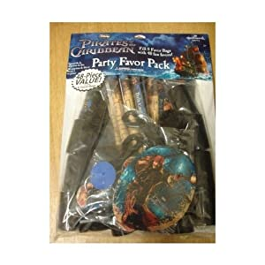 """Disney's """"Pirates of the Caribbean"""" Party Favor Pack (for 8 guests)"""