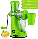 One Stop Shop Fruit And Vegetable Juicer With Steel Handle And Waste Collector (Multicolor)
