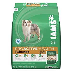 IAMS PROACTIVE HEALTH Adult Chunks Dry Dog Food 38.5 Pounds