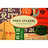 24 Pages of Cavallini Paris Stickers Assorted Styles (100+ stickers)