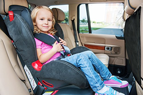 Kick Mats - Double Layered Liners, Car Seat Back Protectors - Great for Picking Up the Kids after Muddy Sports or Your Pet - If You are a Fan of Keeping Your Automotive New, You Will Love these Covers - Universal Fit (2 Pack)