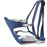 Lusee� Portabeb�s portadores de beb� del vuelta soportes portadores de cadera beb� carrier portador 15KG 4-24 meses (azul)
