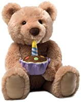 Gund Birthday Bear Feature Animated Plush from Gund