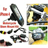 Motorcycle iPhone Powered Mount 13 3mm
