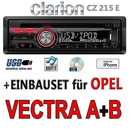 Opel vectra a b-clarion cZ215E-autoradio mP3/uSB