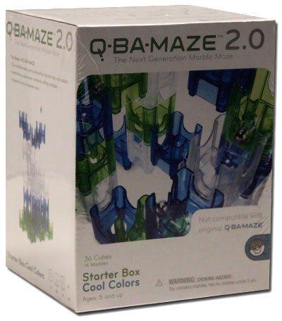 Q-Ba-Maze 2.0 Starter Box Cool Colors Sku-Pas1038593 front-397303