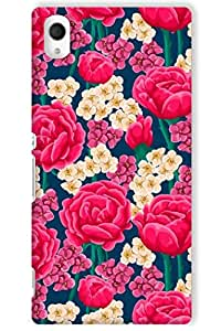 IndiaRangDe Hard Back Cover FOR Sony Xperia M4