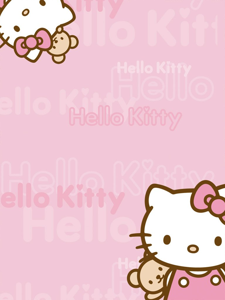 Hello Kitty Wallpaper For Ipad 2 Ipad Mini Hello Kitty Pink